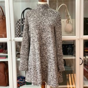 Dresses & Skirts - Grey Marled Swing Sweater Dress